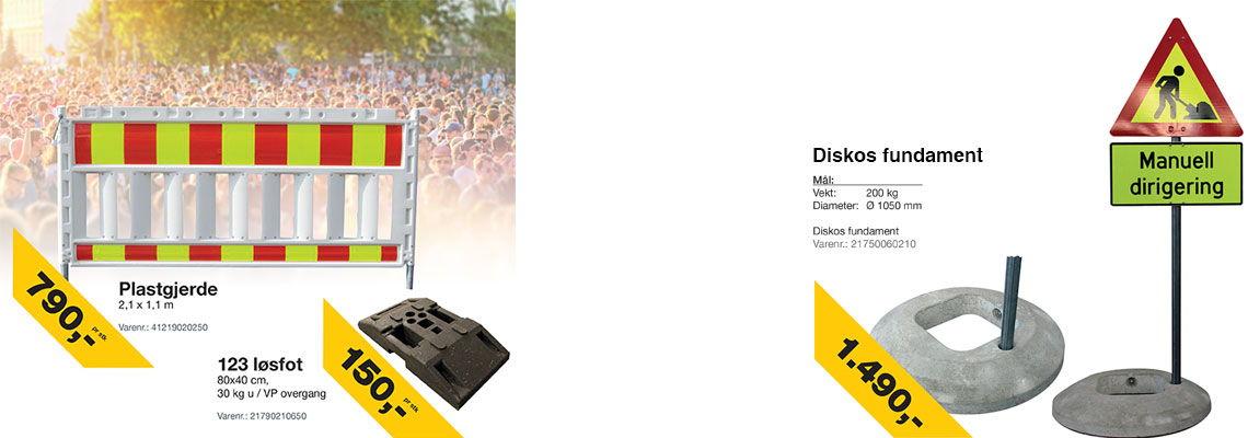 kampanje-pa-diskos-fundament-og-plastgjerde-med-fot