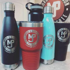 Custom logo water bottles coffee mugs and tumblers happy customer testimonial for promotional products from peterson real estate