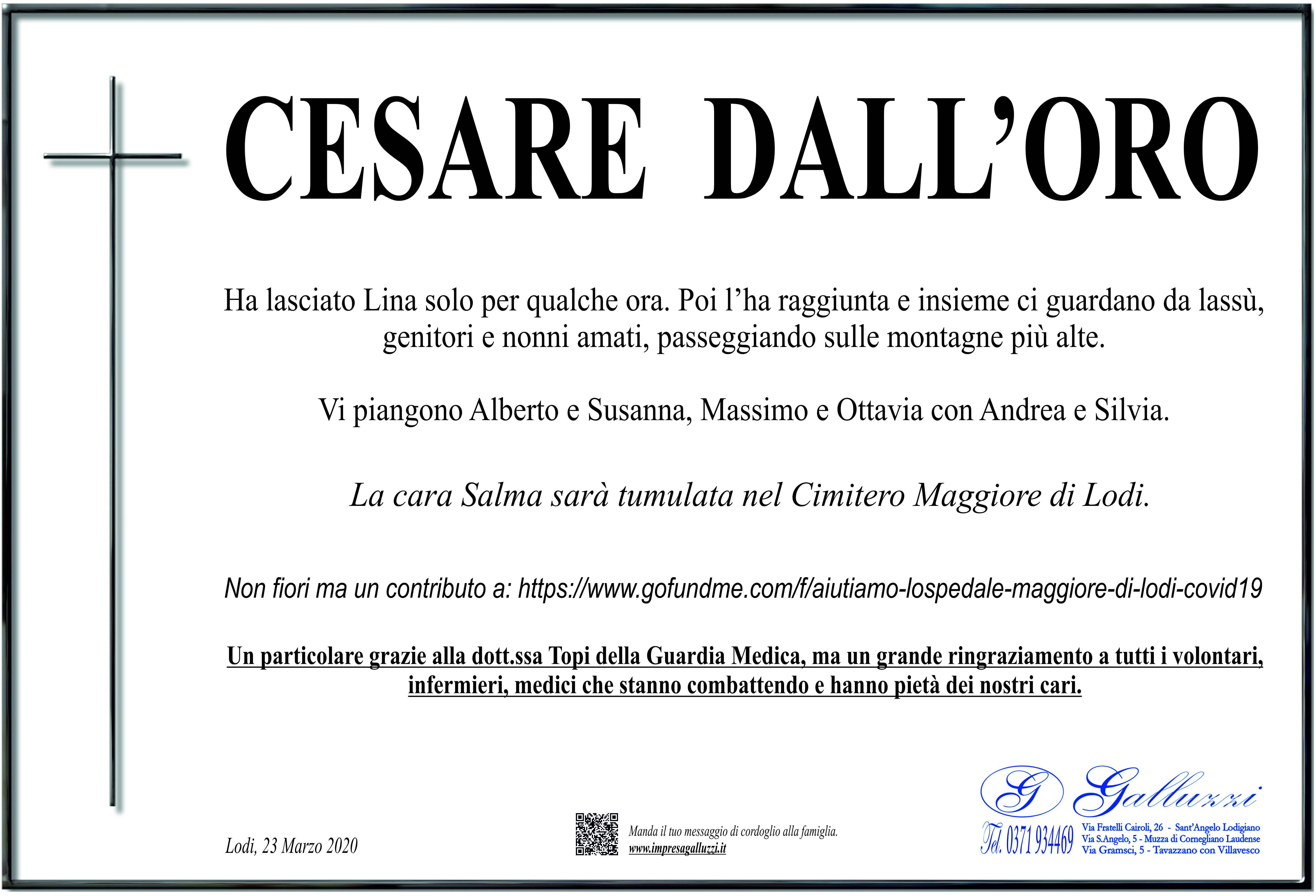 Cesare Dall'Oro