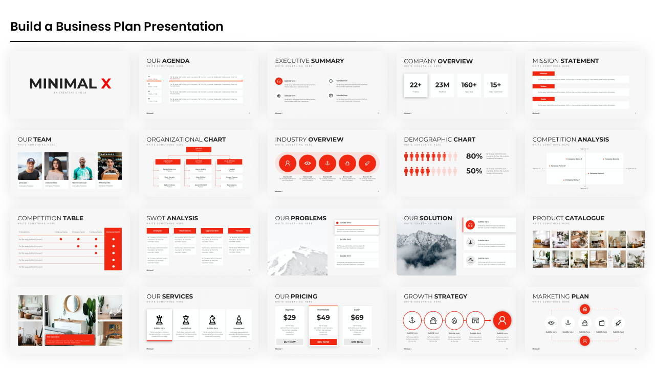 business plan powerpoint presentation template, corporate presentation template