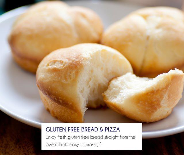 Gluten Free Bread & Pizza Mixes - Happy Tummies