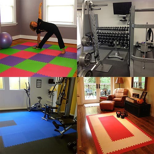 Home Gym Flooring Workout Room Flooring Softtiles