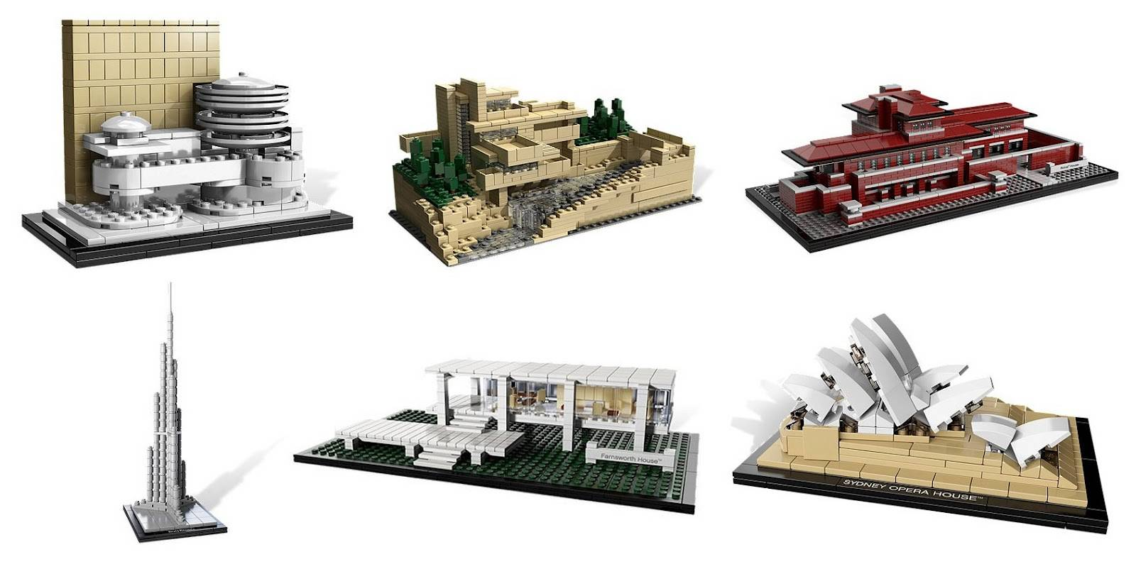 lego architecture series sets
