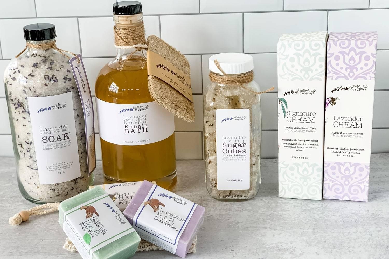 Lavender Bath Salts, Soaps, Lotions and More - Lavender-Life.com