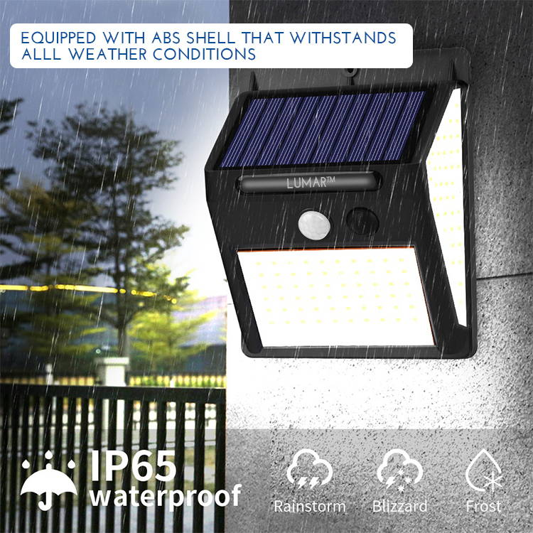 waterproof lights, solar light, solar panels, motion sensor light, weather resistant light
