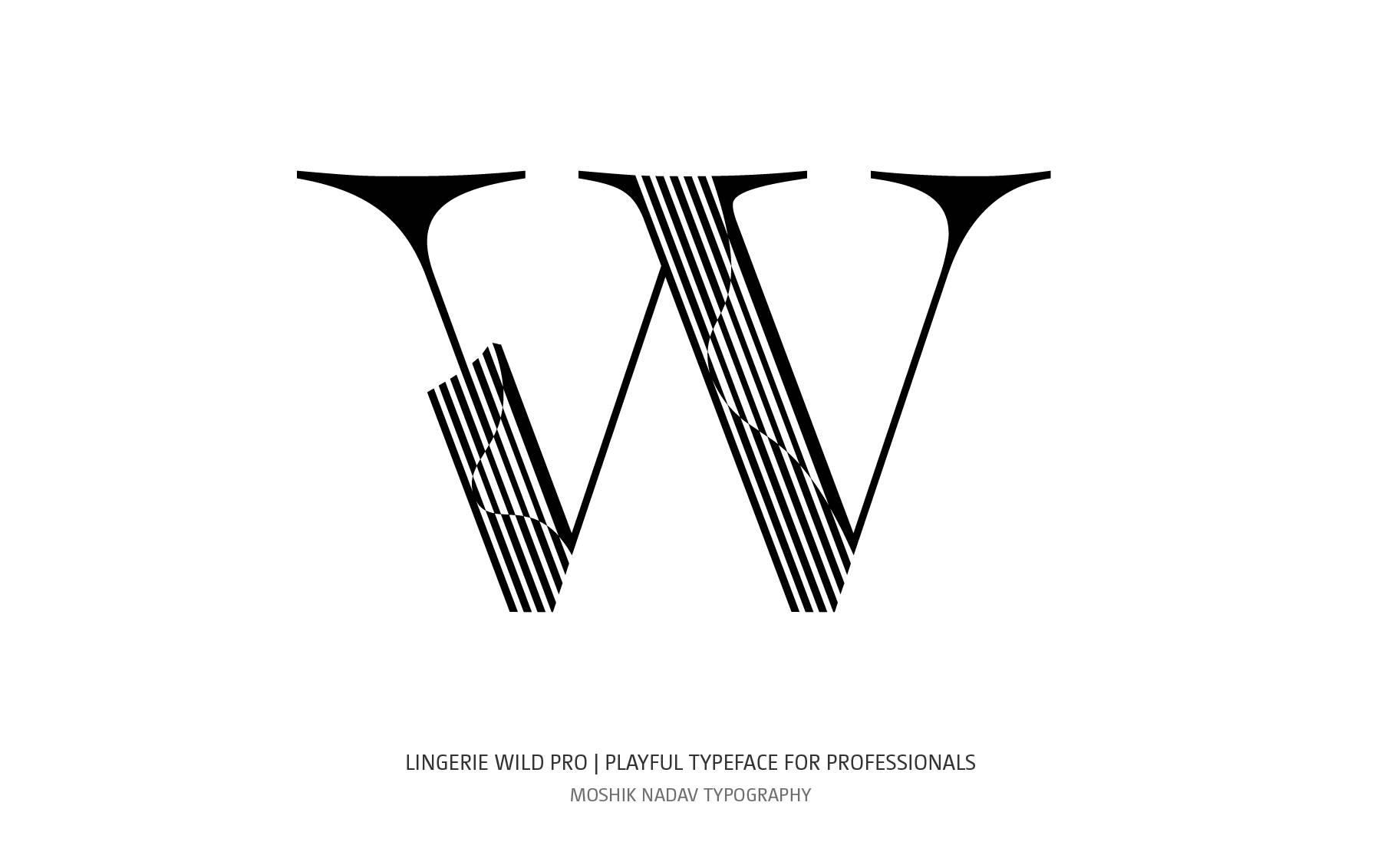 Bold W logo designed by Moshik Nadav NYC