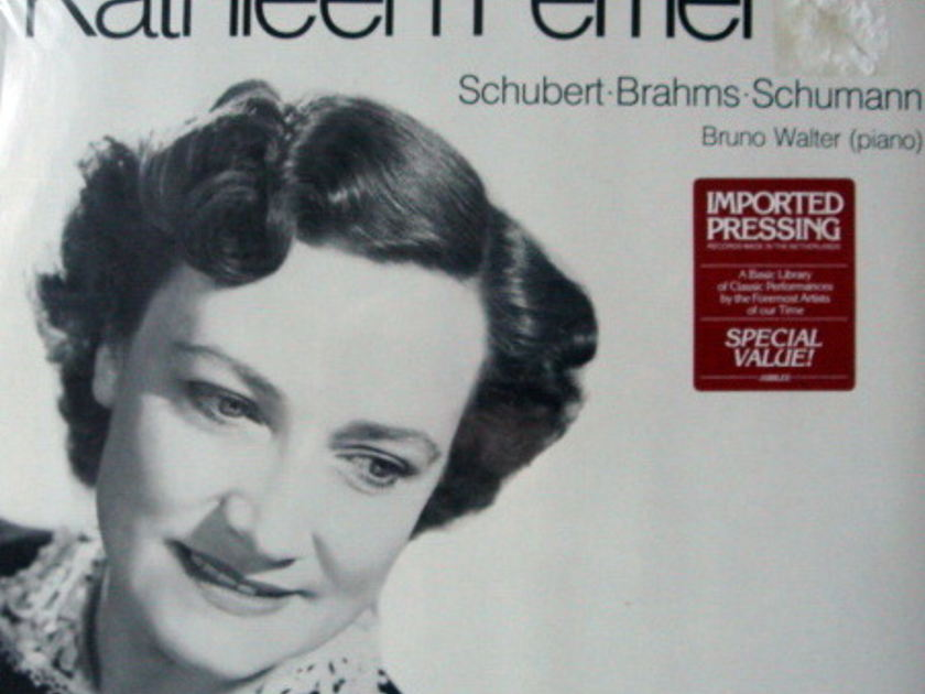 ★Sealed★ London-Decca / - The Great Voice of Kathleen Ferrier with Bruno Walter Piano!