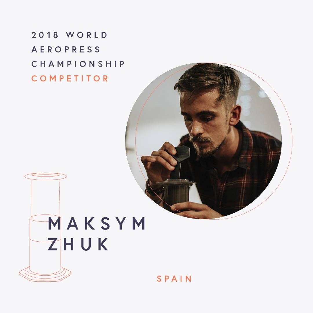 The World AeroPress Championships: Maksym Zhuk