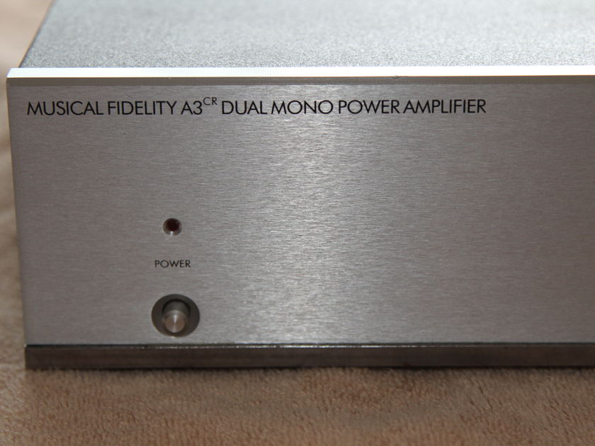 Musical Fidelity A3CR amplifier