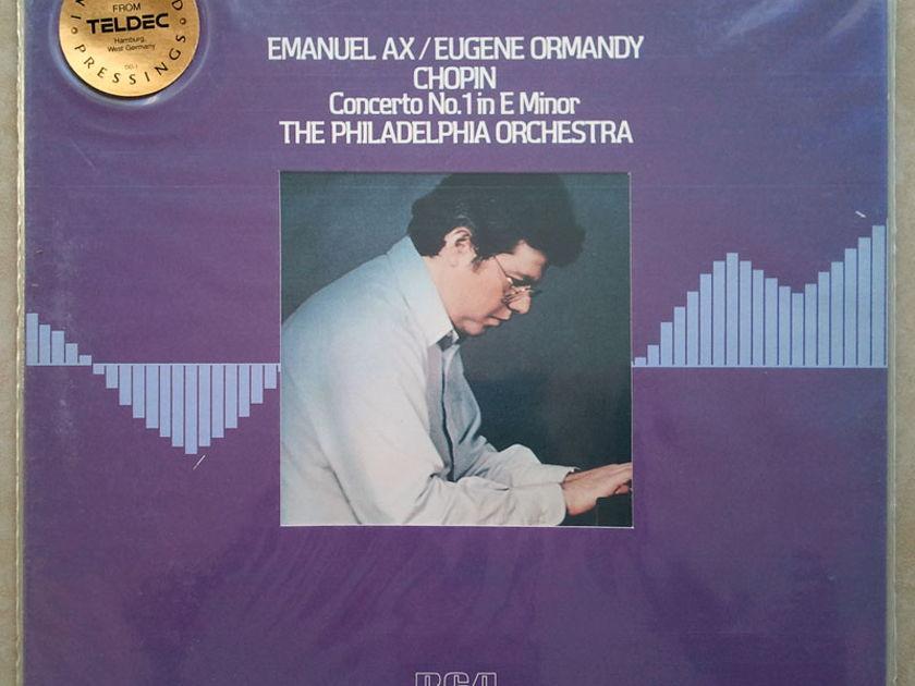 Sealed/RCA Digital/Emanuel Ax/Ormandy/Chopin - Piano Concerto No.1 / Audiophile German Pressings