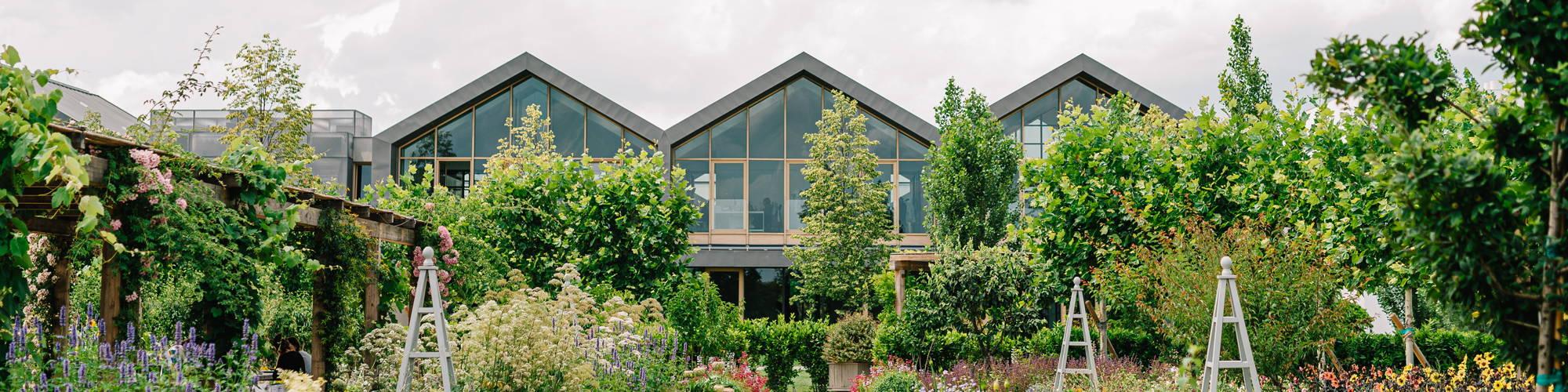 image of the Davines Village garden