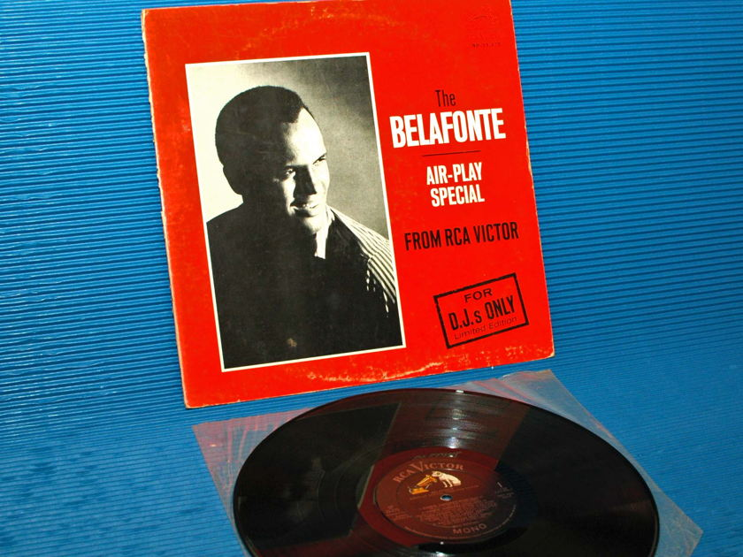 """HARRY BELAFONTE   - """"Air-Play Special For DJ's Only"""" -  RCA 'Black Dog' 1964 Promo"""