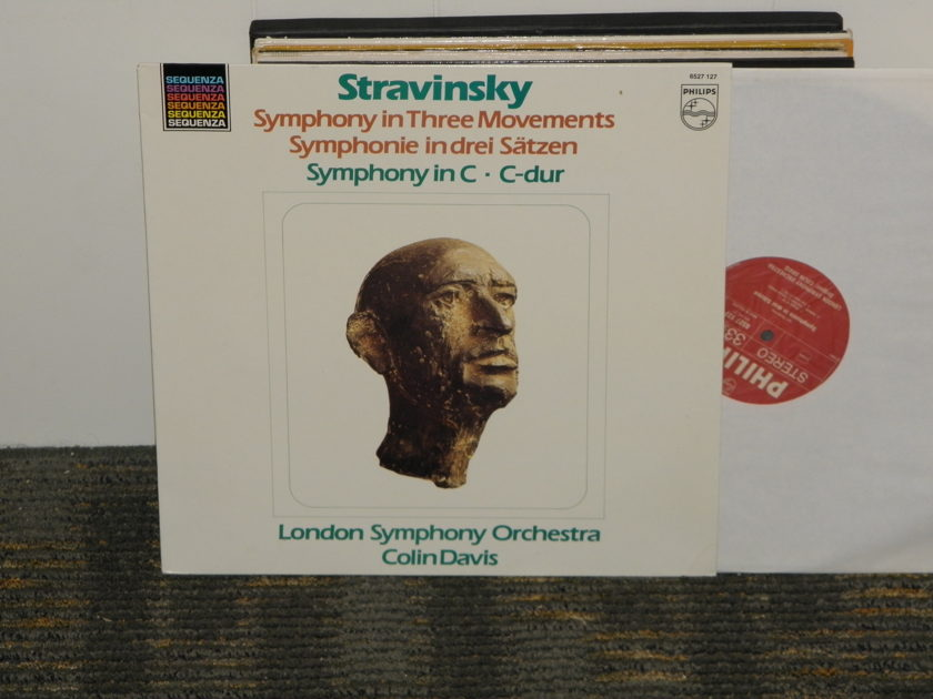 Colin Davis/London Symphony Orchestra - Stravinsky Symphony in Three Movements Philips Import Pressing 6527 127 Holland