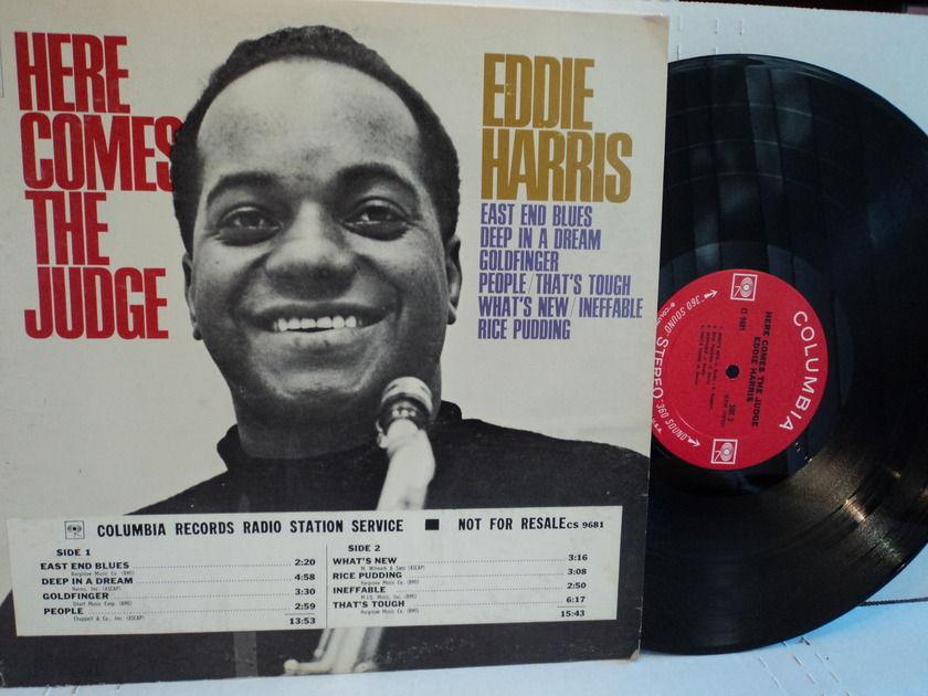 Eddie Harris  - Here Comes The Judge Columbia 2-Eye NM