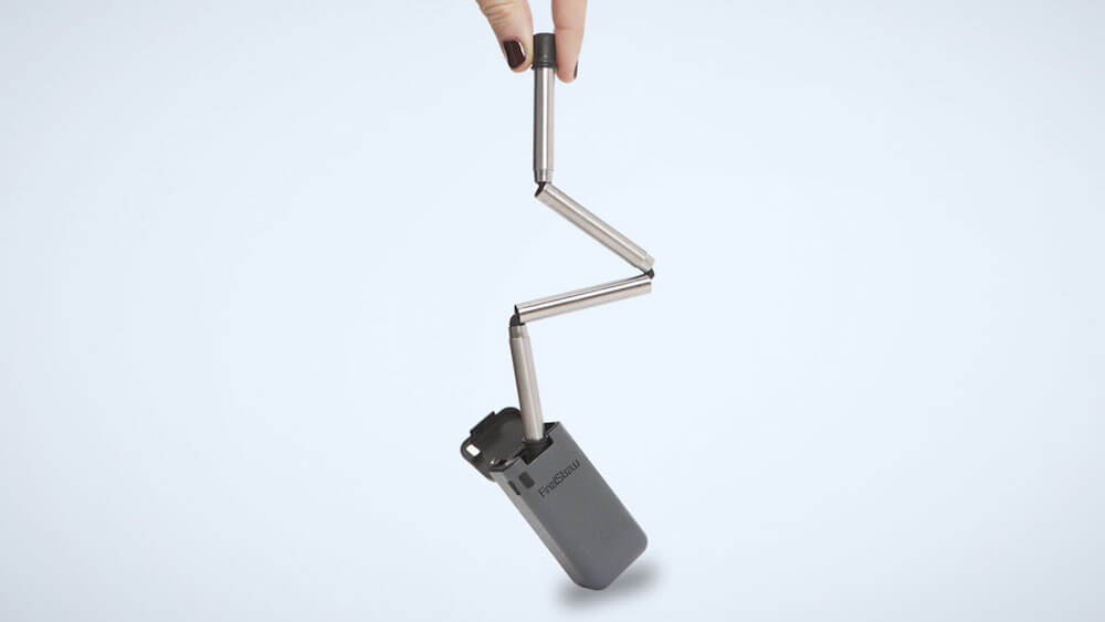 FinalStraw collapsible drinking straw