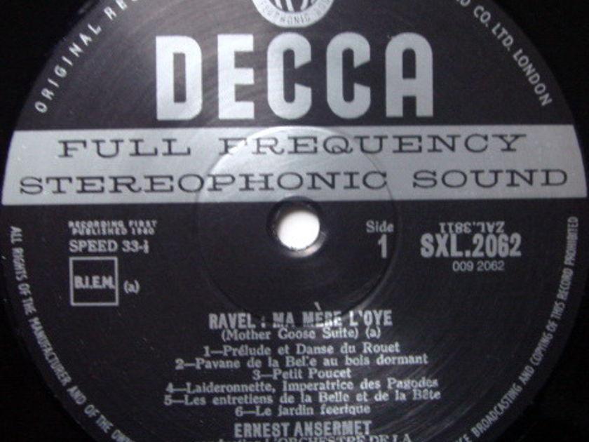 ★Audiophile 180g★ DECCA-Speakers Corner / ANSERMET, - Ravel Mother Goose Suite, MINT(OOP)!
