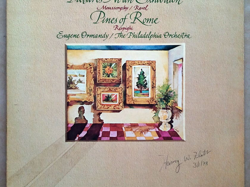 RCA | ORMANDY/RESPIGHI - Pines of Rome/MUSSORGSKY Pictures at an Exhibition / NM