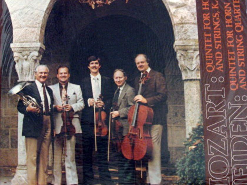 ★Sealed Audiophile★ Casparo / - JONES-PHILARTE QT, Mozart-Heiden Horn Quintets!