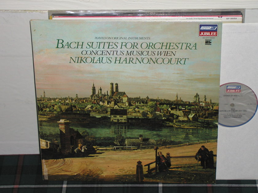 Harnoncourt/CMW - Bach Suites For Orch London Jubilee 2 LP