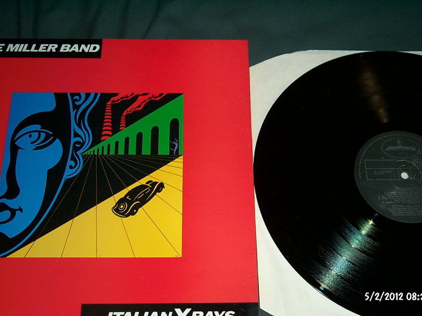 Steve Miller Band - Italian X-Rays Mercury UK LP NM