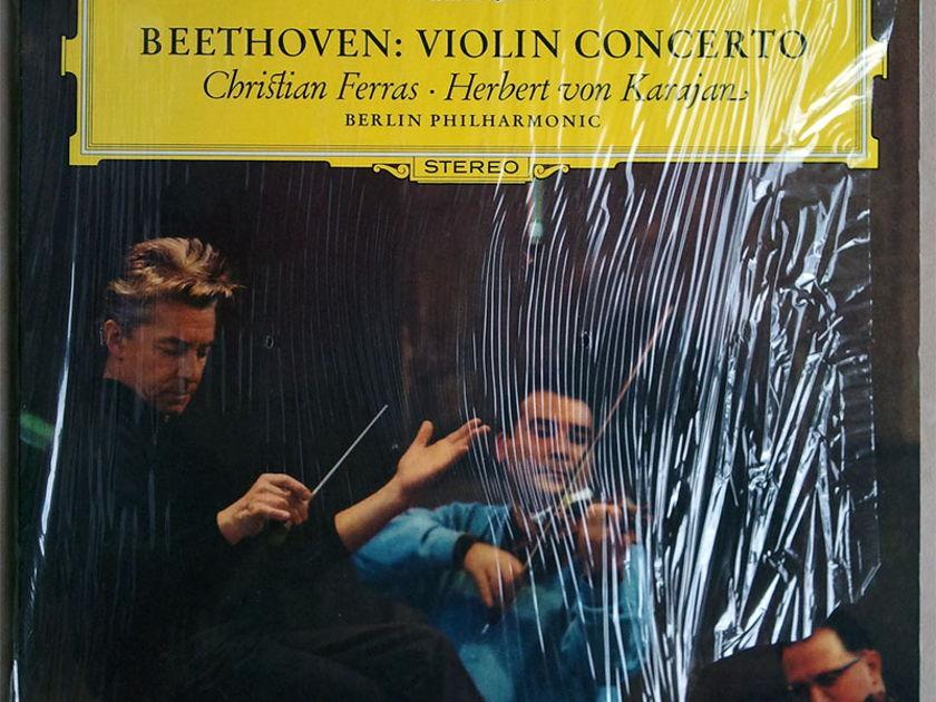 DG/Christian Ferras/Karajan/Beethoven - Violin Concerto / NM
