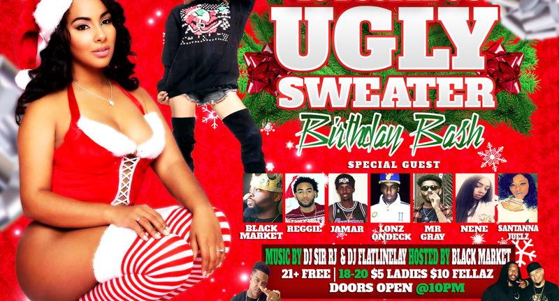 Ugly Sweater Pt. 2 (Hip Hop Night)