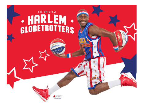 Harlem Globetrotters at Madison Square Garden (4 Tickets)