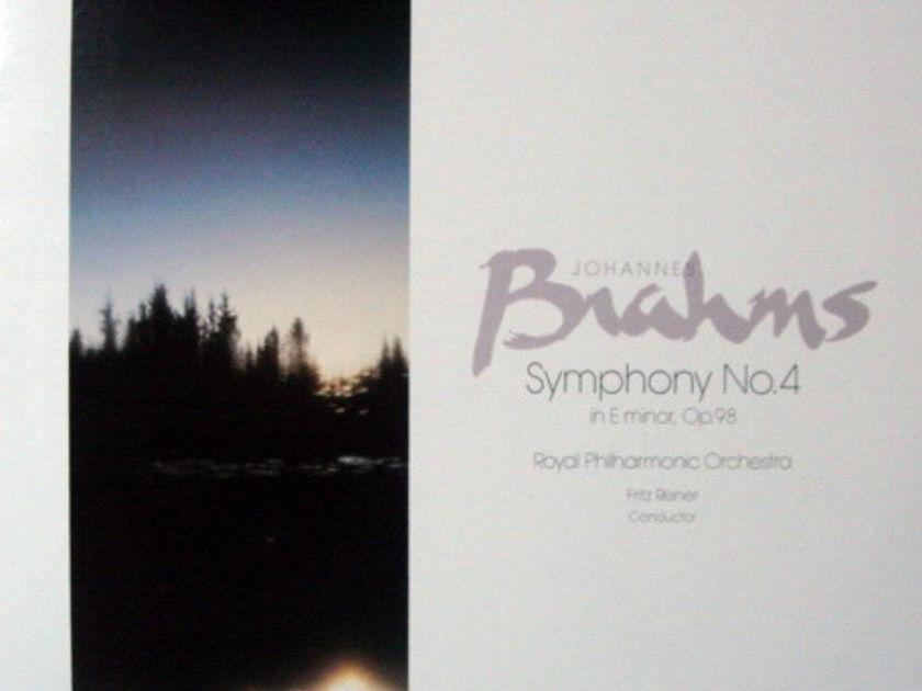 ★Audiophile★ Chesky / REINER, - Brahms Symphony No.4, MINT(OOP)!