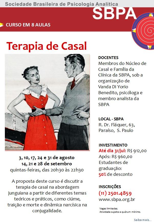 CURSO: TERAPIA DE CASAL