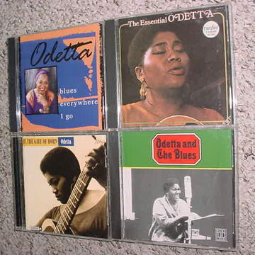 the essential Odetta and the blues