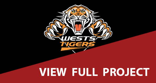 Wests Tigers Fit Out View