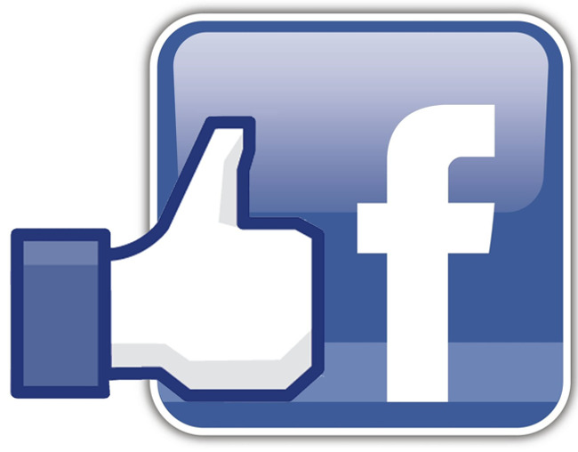 """Facebook """"Like"""" graphic overlapping with the Facebook logo"""