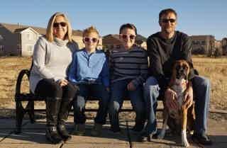 Franchise Owner of Primrose School Stephanie Branscum with herfamily