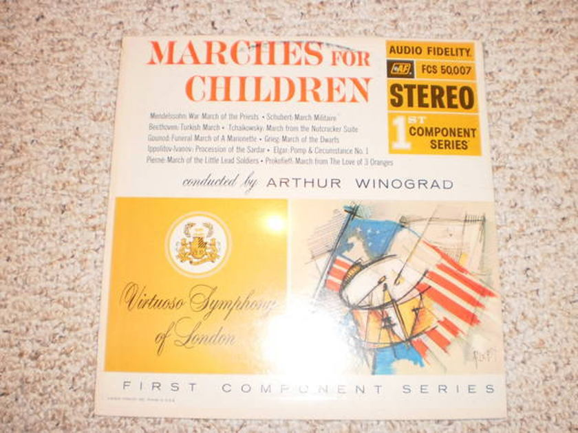 Audio Fidelity - (Sealed) marches for children