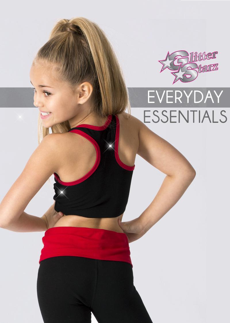 glitterstarz custom everyday essentials cotton stretch sets for cheerleading dance