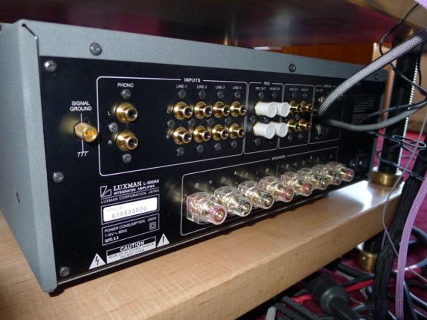 Luxman 550AX