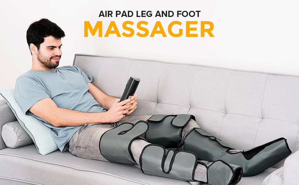 Air Pad Leg And Foot Massager