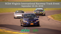 SCDA- VIR 2 Day Track Event- Sept 23-24