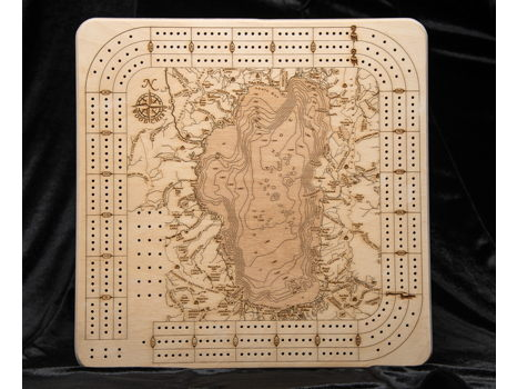 Tahoe Cribbage Board from Mountain Home Center