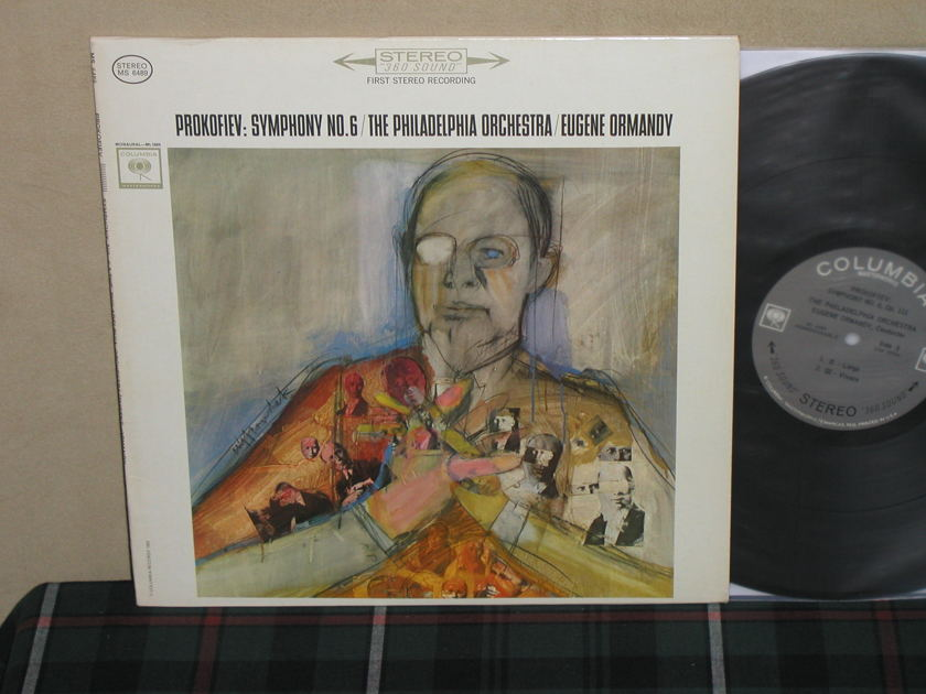 Ormandy/PO - Prokofiev: Sym.No.6 Columbia Black 360 w/arrows