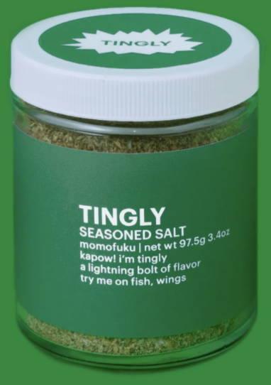 tingly seasoned salt