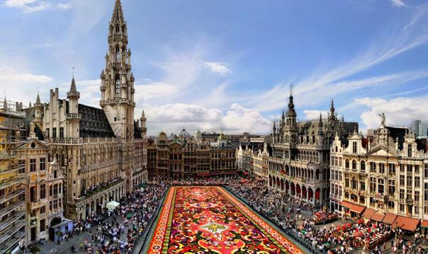 Экскурсия в Брюссель, Брюгге на авто мини-группа до 8 человек