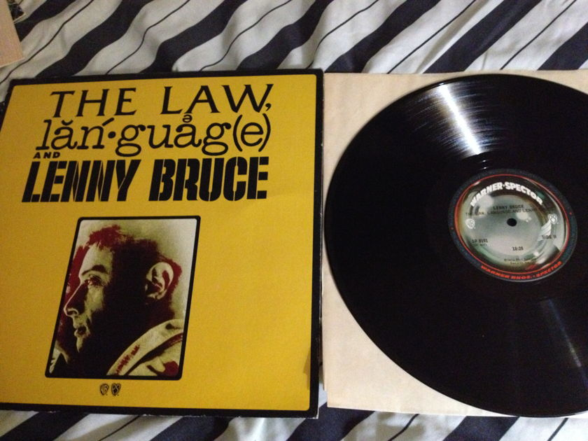 Lenny Bruce - Law,Language And Lenny Bruce Phil Spector LP NM