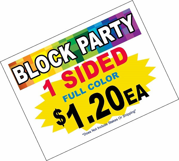 Event Sign Example 1