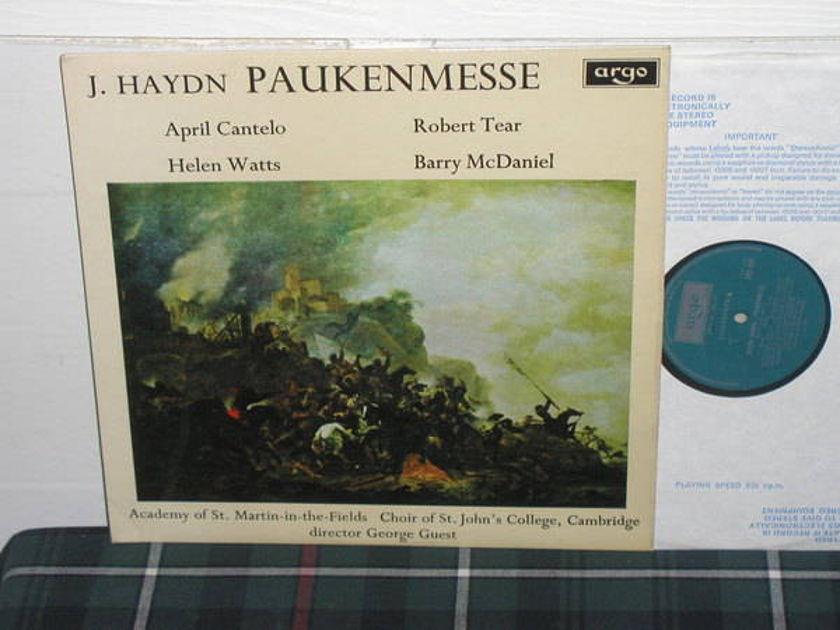 Guest/AoStMitF - Haydn UK/DECCA/Argo zrg 634