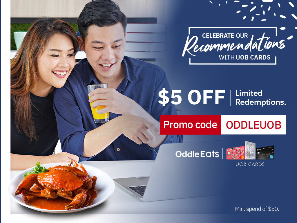 Enjoy $5 off with your UOB Card!