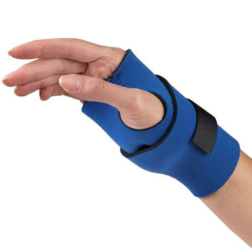 0128 / NEOPRENE WRAPAROUND WRIST SUPPORT