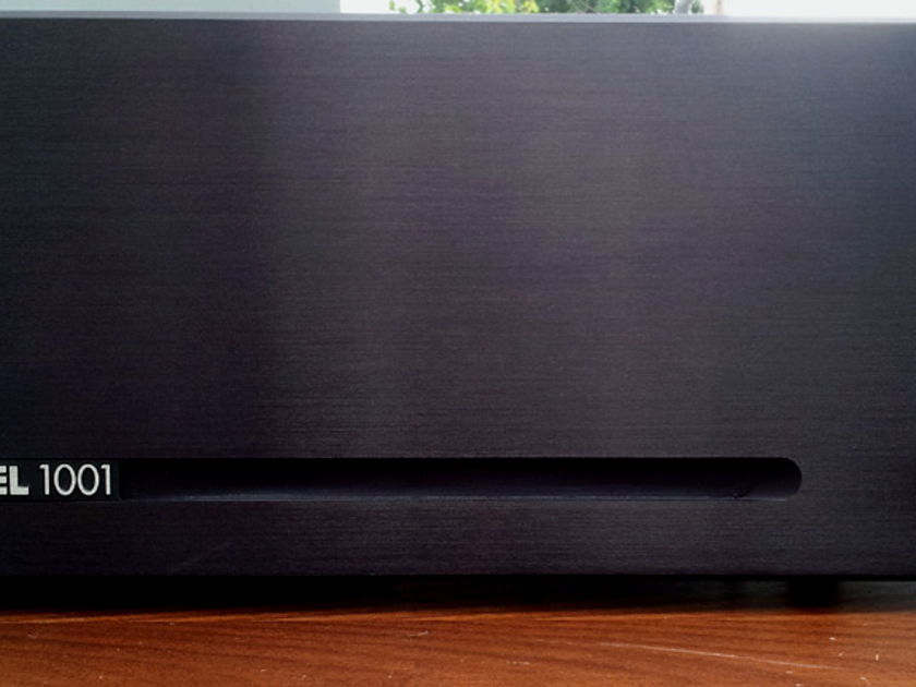 Brown Electronic Labs Model 1001 Mk5 (50 Watt Class A 2-Ch)  Amplifier DEMO (Finish: Black)