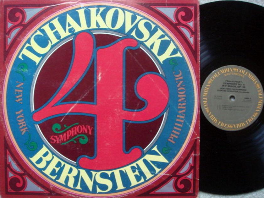 Columbia / LEONARD BERNSTEIN, - Tchaikovsky Symphony No.4, NM-!