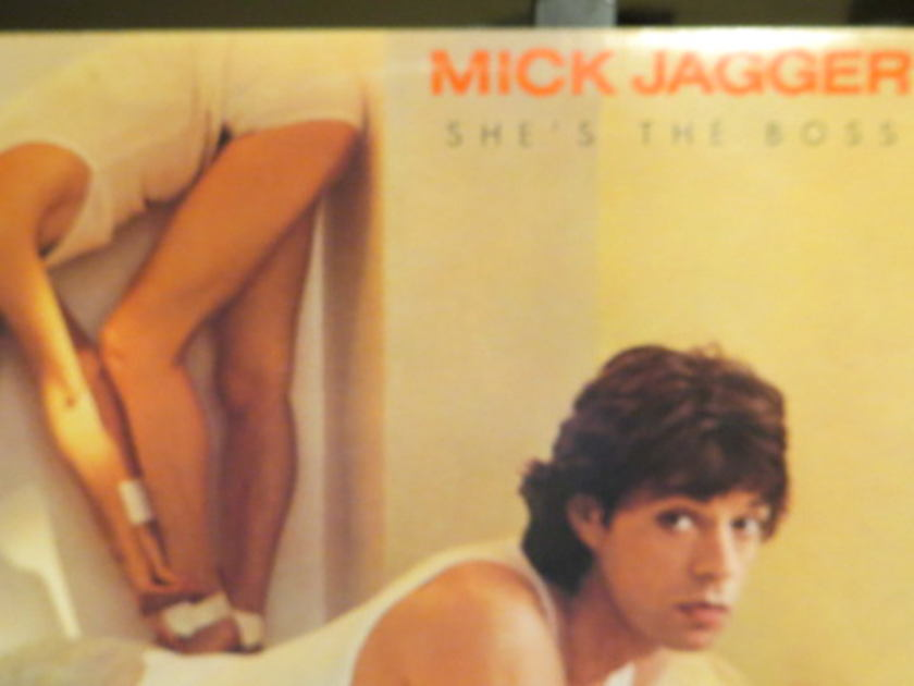 MICK JAGGER - SHE'S THE BOSS